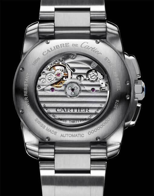 Chronographe Calibre de Cartier : un calibre manufacture de bien belle facture