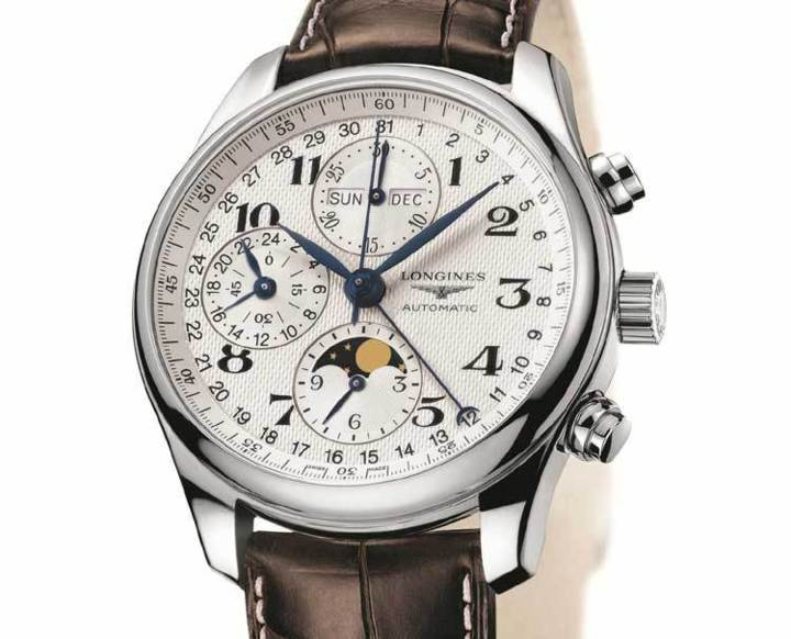 The Longines Master Collection Moon Phases