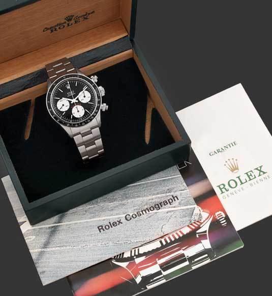 Tajan : une belle vente horlogère pour Noël