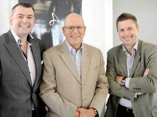 Guillaume Tetu, Georges-Henri Meylan et Bill Muirhead