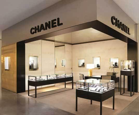 Boutique Chanel aux Galeries Lafayette à Paris