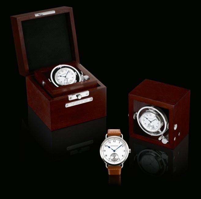 Le chronomètre de Marine Hamilton vu par Lionel Kallmann de l'Etoile d'Or