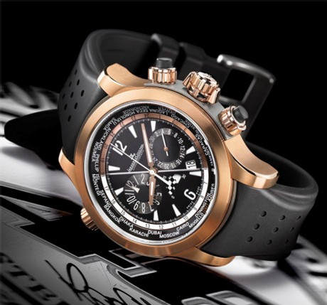 Master Compressor Extreme World Chronograph or rose