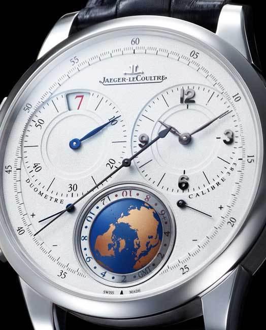 Jaeger-LeCoultre Duomètre Unique Travel Time (détail)
