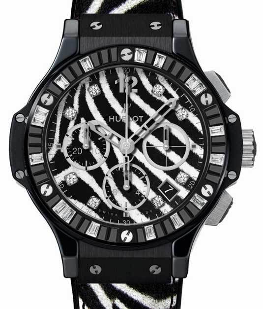 Hublot Big Bang « Zebra Bang » : jungle watch