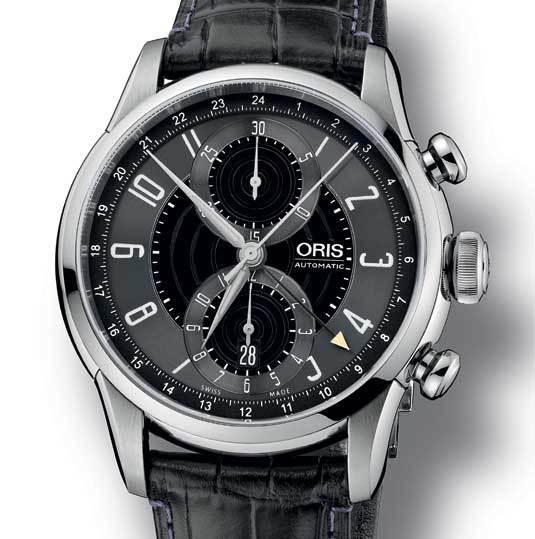 Oris RAID 2012 : beau chrono/GMT en édition limitée
