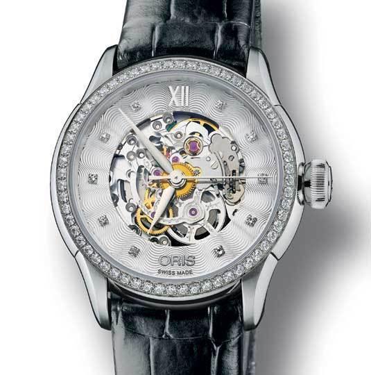 Oris Artelier Skeleton Diamonds : belle mécanique