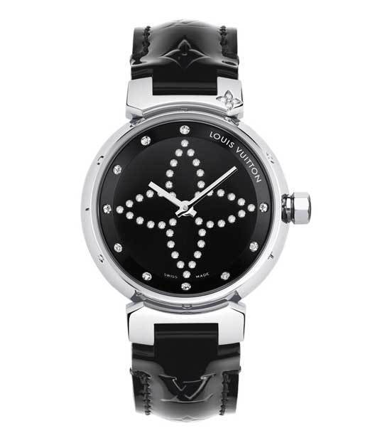 Louis Vuitton Tambour Forever Black & White