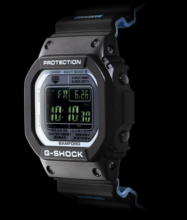 Une G-Shock customisée par Bamford London