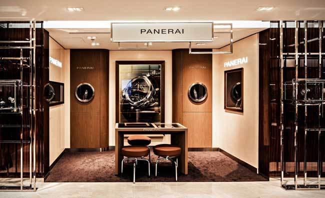 Panerai : un nouveau point de vente au Printemps à Paris