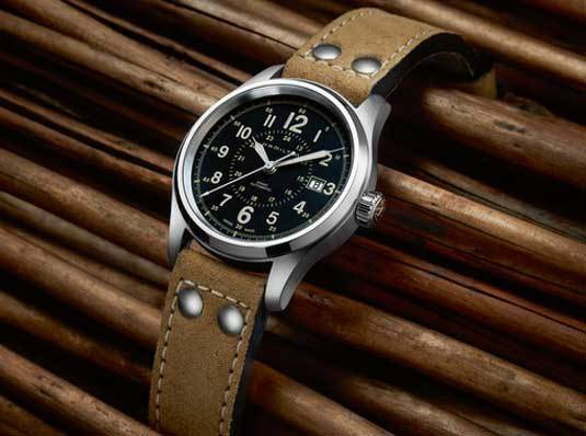 Ré-interprétation 2012 - Hamilton Khaki Field Automatique 4990449-7452056