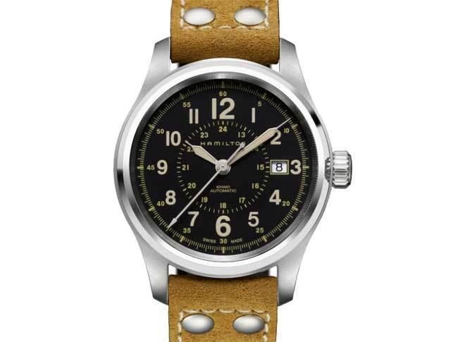Ré-interprétation 2012 - Hamilton Khaki Field Automatique 4990449-7452108