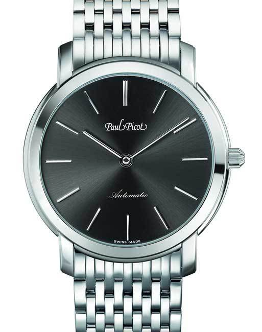 Paul Picot Firshire Extraflat bracelet acier