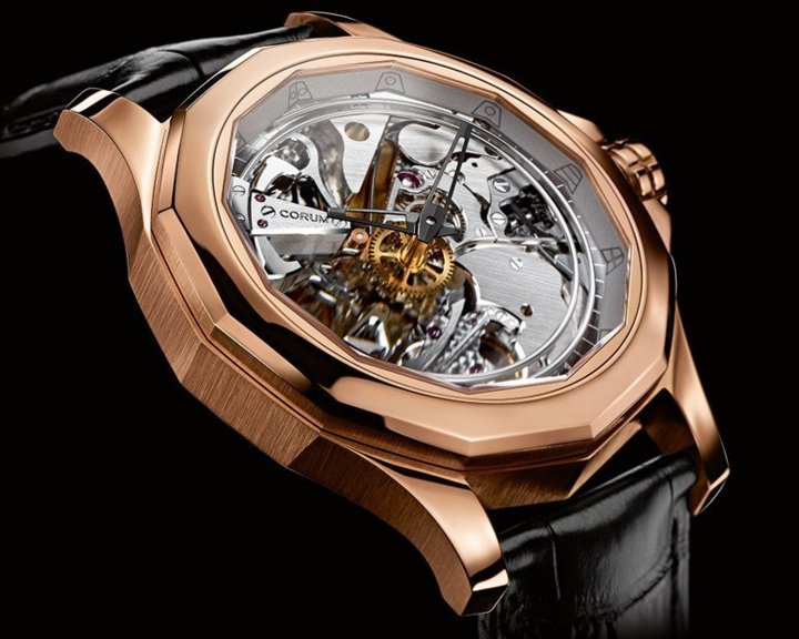 Corum Admiral's Cup Legend 46 Minute Repeater Acoustica : le temps au rythme des accords