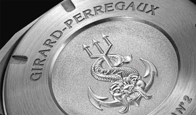 Girard-Perregaux Sea Hawk fond de boitier