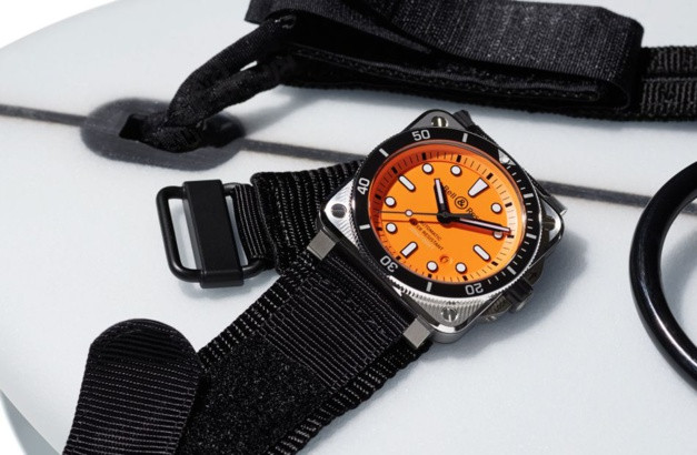 Bell & Ross BR 03-92 Diver Orange : plongée dans les seventies