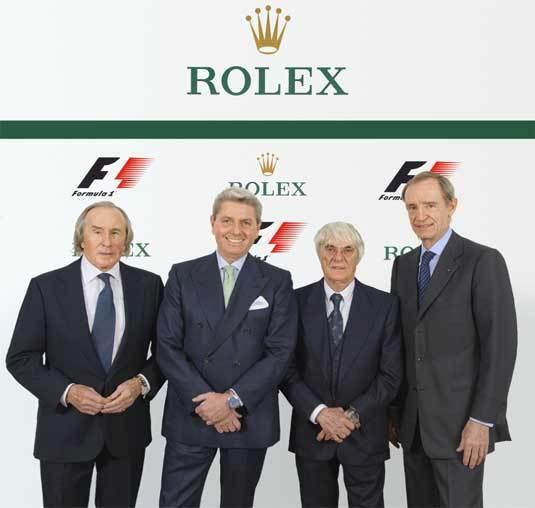 Rolex : chronométreur officiel de la Formule 1 à partir de 2013