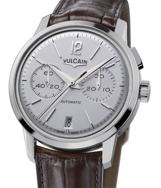 Vulcain Chronographe Monopoussoir 50 Presidents'