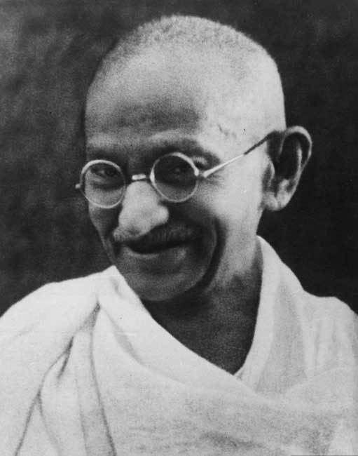 Mahatma Gandhi, DR