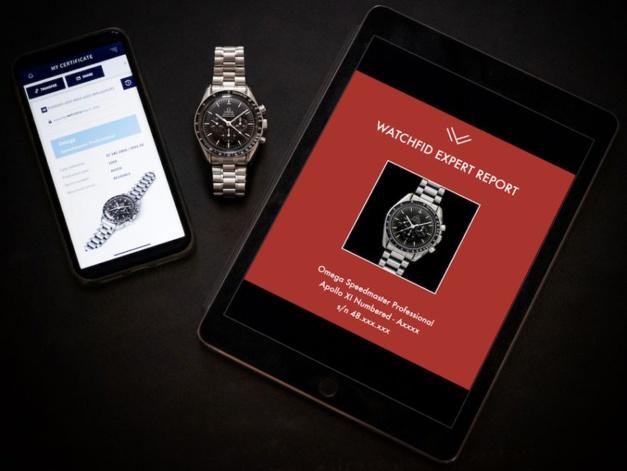 Watchfid : une plateforme d'expertise pour les montres de collection avec technologie Blockchain