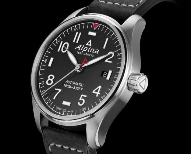 Alpina Startimer Pilot Automatic : atterrissage en douceur pour la version en 40 mm