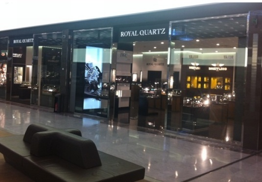 Carl F. Bucherer : atterrissage chez Royal Quartz Terminal S4 de Roissy Charles de Gaulle