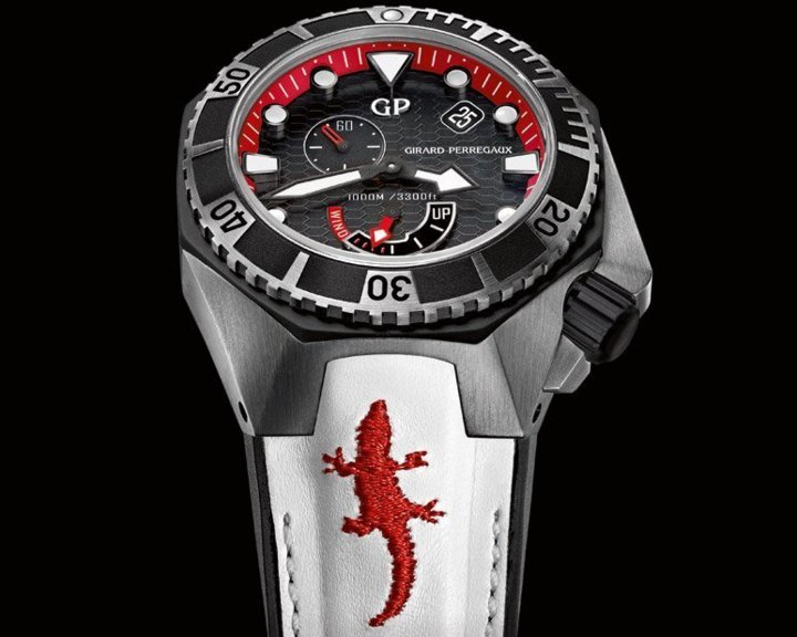 Girard-Perregaux Sea Hawk FOReverglades : croco for ever Sweetlove !