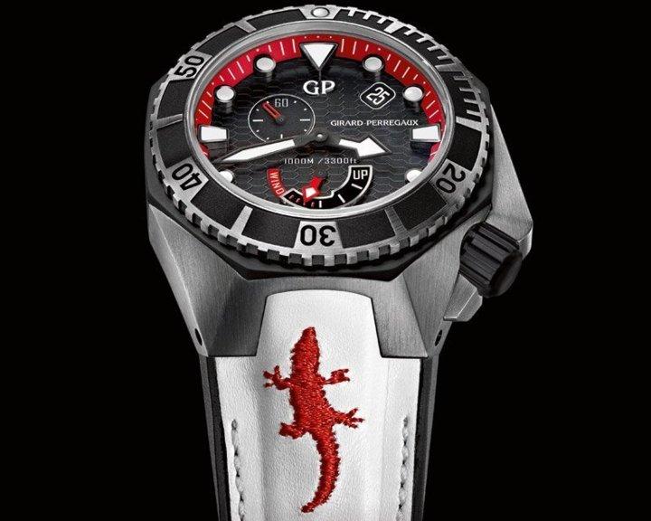 Girard-Perregaux Sea Hawk FOReverglades : croco for ever Sweetlove !