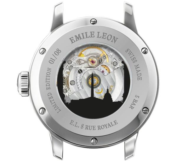MeisterSinger Emile Léon Edition : 8 exemplaires pour le 8 de la rue Royale à Paris