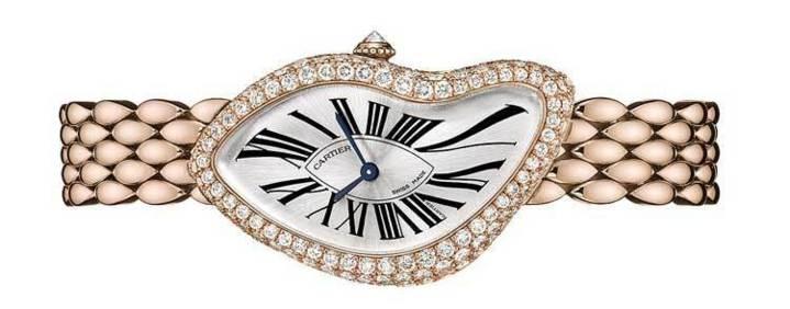 Cartier : montre Crash