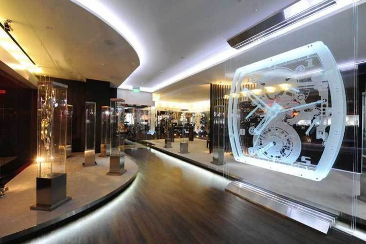 Richard Mille : inauguration d'une boutique au Grand Hyatt de Singapour