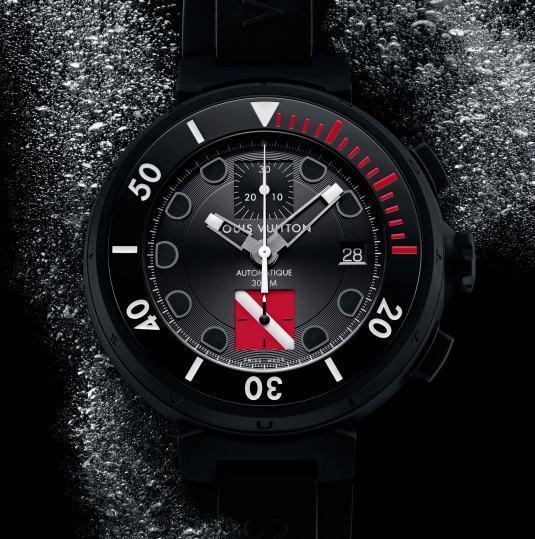 Louis Vuitton Tambour Diving II Chronographe