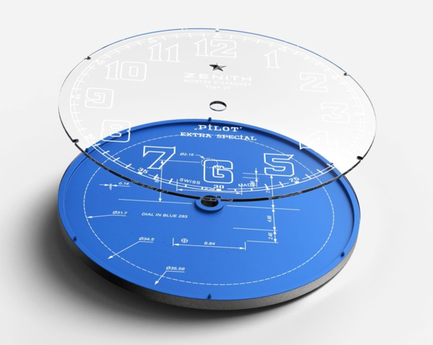 Zenith Pilot Type 20 Blueprint