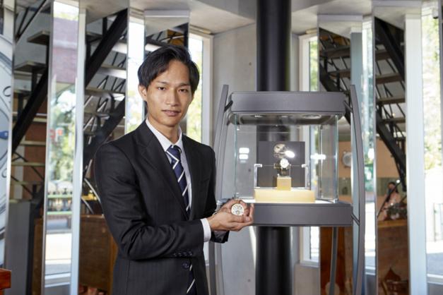 Young Talent Competition : remise du prix à Norifumi Seki au sein de la boutique F.P. Journe Tokyo