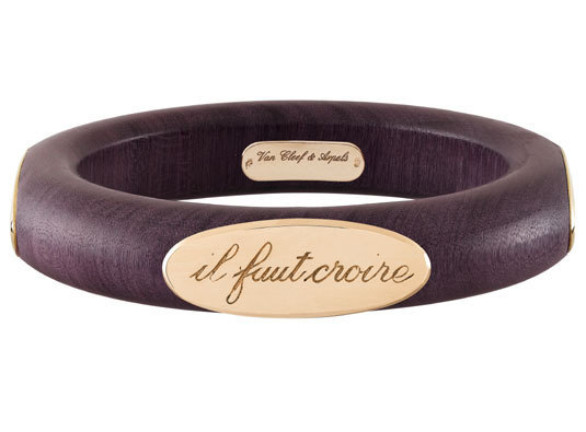 Van Cleef & Arpels bracelet « Croire à la chance »