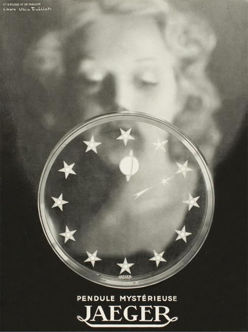 Laure Albin Guillot, Publicité pour la Manufacture Jaeger-LeCoultre, vers 1940. Collection particulière, Paris