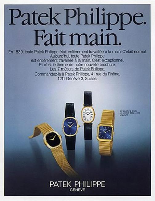Nostalgie, nostalgie : s'offrir une vieille affiche de pub' horlogère
