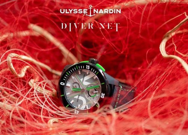 Diver Net : un concept-watch Ulysse Nardin né de l'océan et pour l'océan