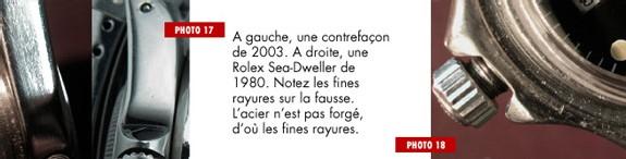 Montres de contrefaçon : introduction de Fabrice Guéroux, spécialiste de la question