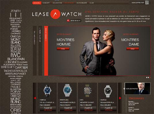 Lease a watch : montres de luxe en leasing…