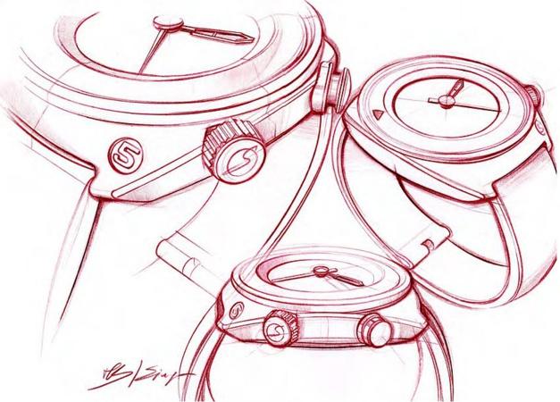 Singer Reimagined : Singer Flytrack, le chrono version minimaliste