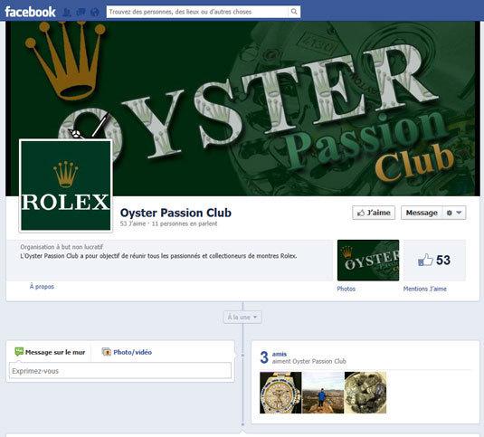 Oyster Passion Club : création d'un club de passionnés et collectionneurs de Rolex