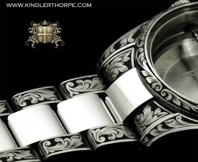 Kindler and Thorpe : graveur de montres de luxe