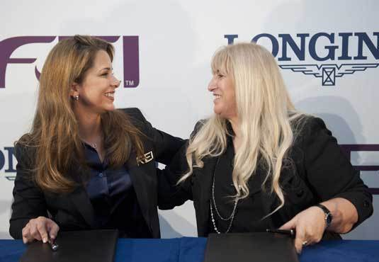 Longines signe un partenariat record de dix ans avec la Fédération Equestre Internationale