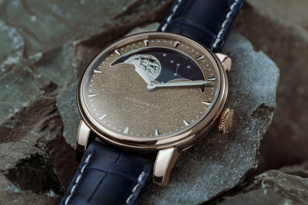 Arnold & Son Perpetual Moon Obsidian Lune Changeante