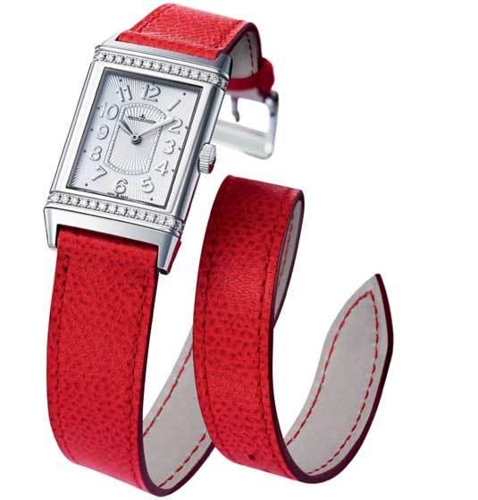 Jaeger-LeCoultre Grande Reverso Lady Ultra Thin avec bracelet Valextra