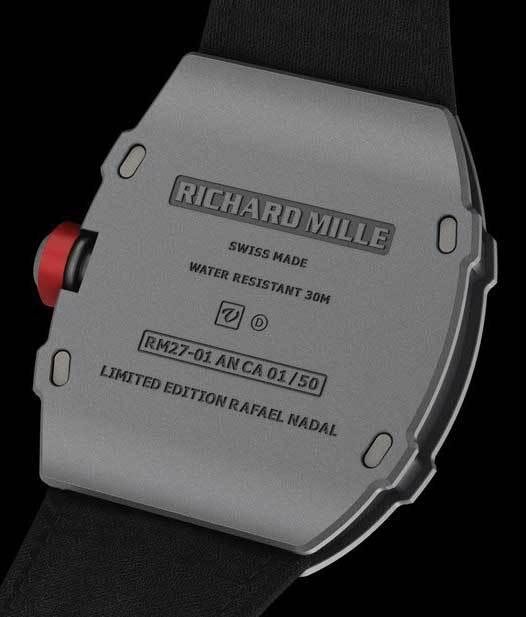 Richard Mille Tourbillon RM 27-01 Rafael Nadal : un gramme de moins, mais ça compte !
