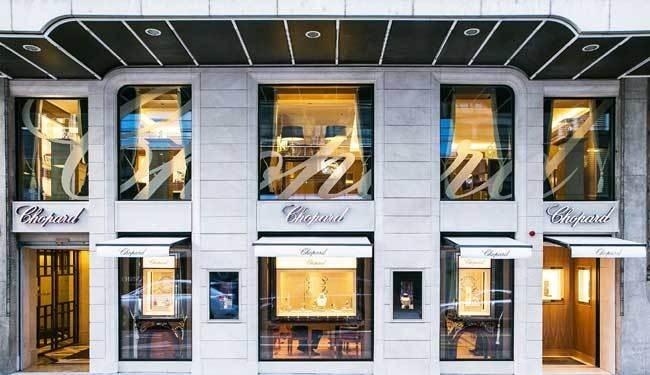 Chopard : la boutique de la rue du Rhône à Genève entièrement rénovée