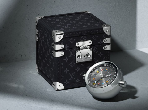 Louis Vuitton Trunk Table Clock © Philippe Lacombe