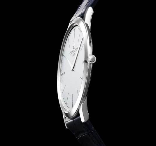 Jaeger-LeCoultre Master Ultra Thin Jubilee : la montre mécanique à remontage manuel la plus plate au monde